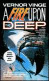 A Fire Upon the Deep-by Vernor Vinge cover
