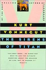 Sirens of Titan-by Kurt Vonnegut cover pic