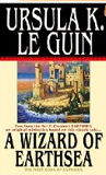A Wizard of Earthsea-by Ursula K Le Guin cover