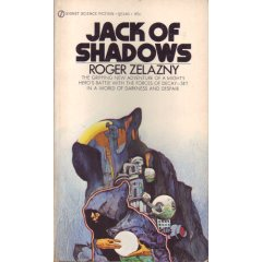 Jack of Shadows-by Roger Zelazny cover pic